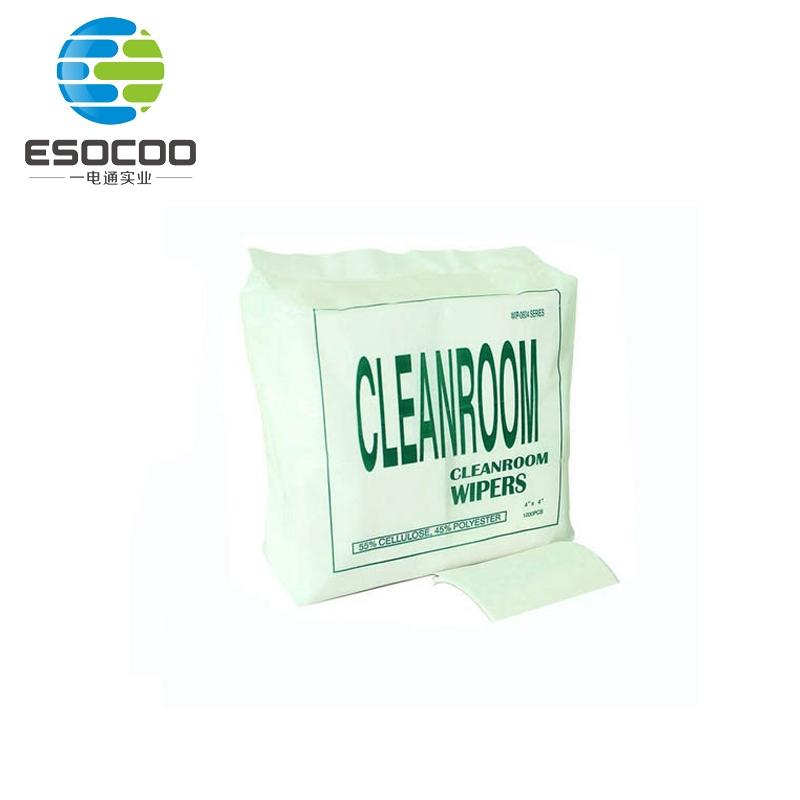 厂家直销超细纤维无尘纸06×06工业无尘纸可撕无尘擦拭纸