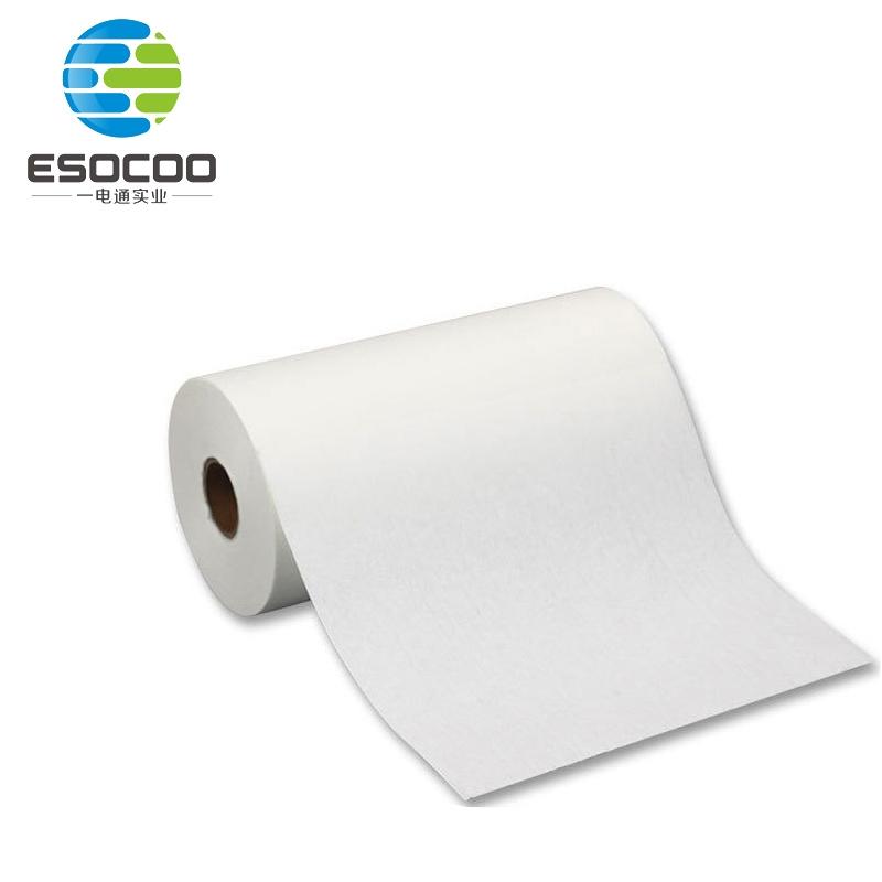工业蓝色点段无尘纸大卷点断清洁擦拭纸可撕无尘擦拭纸吸油纸厂家